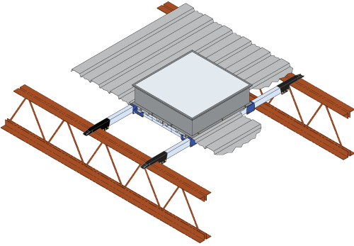 3 inch tube framing clamp system