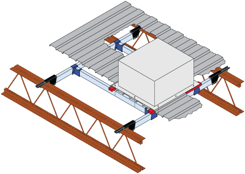 Joist Grip Tube Framing Clamp System Chicago Clamp Company