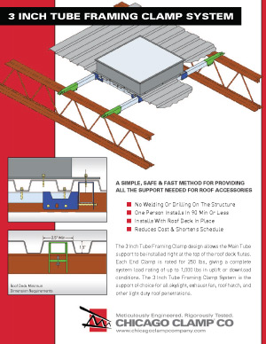 3 Inch Tube Framing Clamp System Brochure