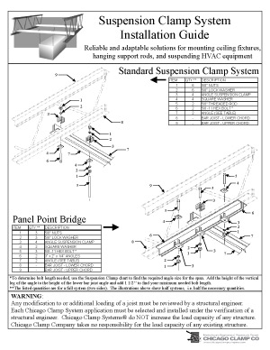 Suspension Clamp System Installation Guide