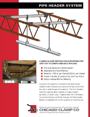 Pipe Header System Brochure