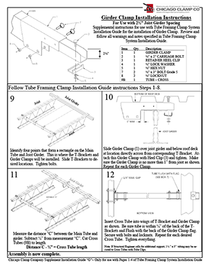 Girder Clamp Installation Guide