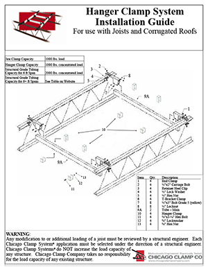Hanger Clamp Installation Guide